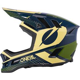 O'Neal Blade Polyacrylite Hjelm Ace, blue/beige/green